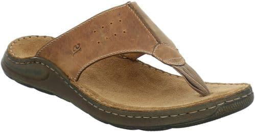 Josef Seibel Maverick 05 Sandal Mens Summer Brown